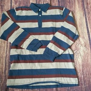 Brooks Brothers striped polo rugby shirt sz XL